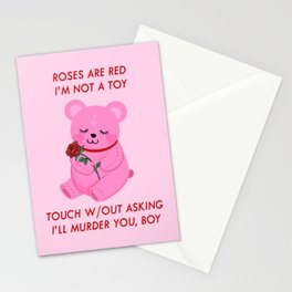 A Valentines Poem Stationery Cards