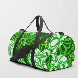 Night In the Jungle Garden Duffle Bag