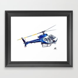 NSW Polair 3 - Eurocopter AS350 Écureuil Framed Art Print