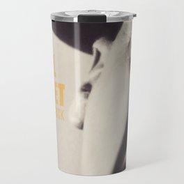 Full Metal Jacket, Stanley Kubrick, alternative movie poster, minimalist print, Vietnam War, Marines Travel Mug
