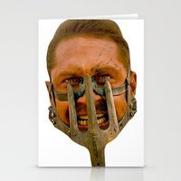 mad max Stationery Cards featuring Mad Max by Sten