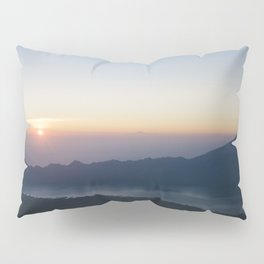 Sunrise on Mount Batur, Ubud, Bali, Indonesia - Travel Photography fine art wall print Pillow Sham