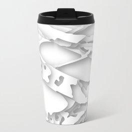 wild white areas Travel Mug