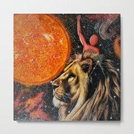 Zodiac Sign - Leo Metal Print