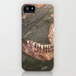Catacomb Culture - Mandible / Jaw Bone iPhone Case