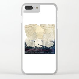 2018, Time to Clean House Clear iPhone Case