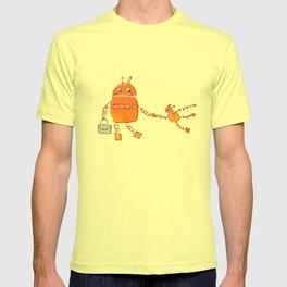 Robomama Robot Mother And Child T-shirt