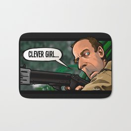 Clever Girl Bath Mat