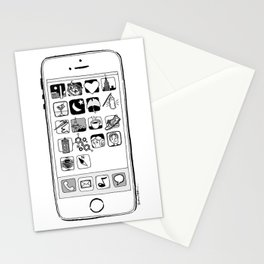 iPhone 5s Stationery Cards