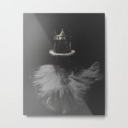 BLACCK Metal Print