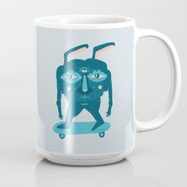 Skater Bunny Coffee Mug