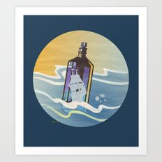 Ghost Ship 2 Art Print