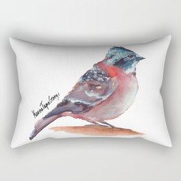 Chilean Bird - Chincol Rectangular Pillow