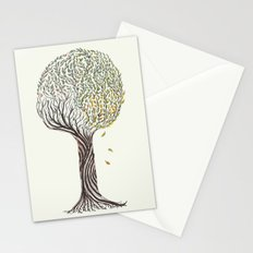 season tree Stationery Cards