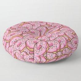 Pink Donuts Floor Pillow