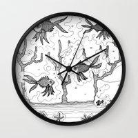 underwater Wall Clocks featuring Underwater by Condor