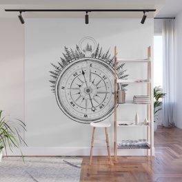 Print XIV / Compass Wall Mural