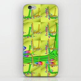 U - pattern 2 iPhone Skin