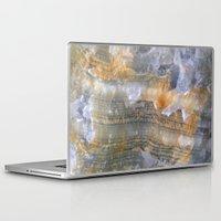 mineral Laptop & iPad Skins featuring onix mineral by L.A.B.