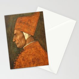 Gentile Bellini - Portrait of a Doge, probably Pasquale Malipiero Stationery Cards