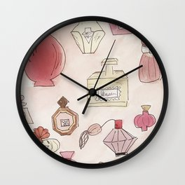 Pefume Collection Wall Clock