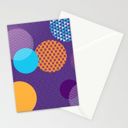 Japanese Patterns 07 Stationery Cards