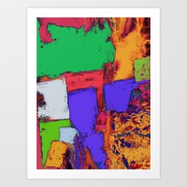 The correct place Art Print