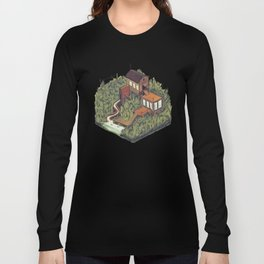 Squared Landscape III Long Sleeve T-shirt