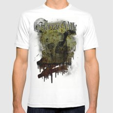 Skulldrip MEDIUM White Mens Fitted Tee