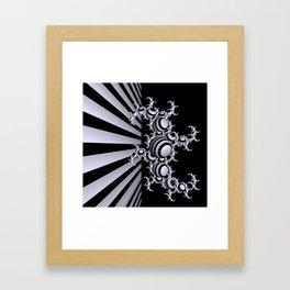 going mandelbrot -3- Framed Art Print