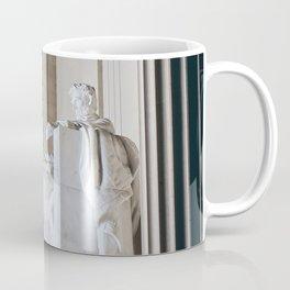 On His Marble Throne Coffee Mug