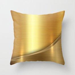 Brushed Gold Deko-Kissen