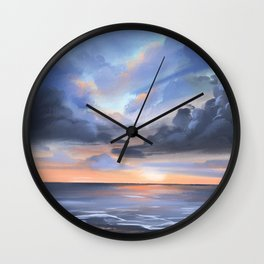 Lauderdale-by-the-Sea Sunrise Wall Clock