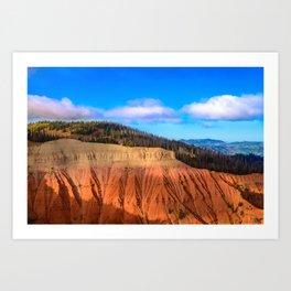 Morning 6003 - Cedar Breaks National Monument, Utah Art Print