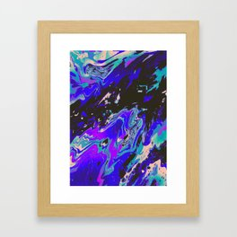 SAVE YOURSELF Framed Art Print