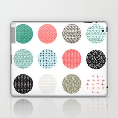 Patterned Dots Laptop & iPad Skin
