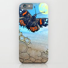 Last Flight of the Red Admiral Butterfly iPhone 6s Slim Case