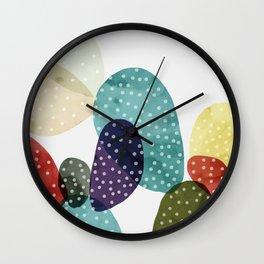 Cactus watercolor II Wall Clock