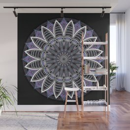 Southwest Mandala Purple Wall Mural