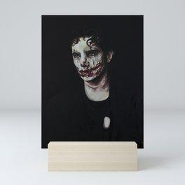 Scarred Clown Mini Art Print