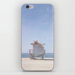 can't bear the melt iPhone Skin
