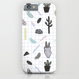 PASTEL GARDENS iPhone Case