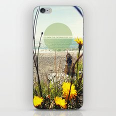 I'd Swim The Oceans For You iPhone & iPod Skin