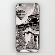 French Collage v2 iPhone & iPod Skin