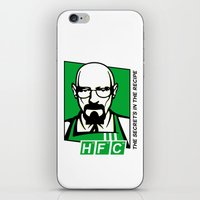 cook iPhone & iPod Skins featuring The Cook by Ferguccio