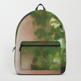 Young Greek Wine Backpack