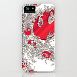 Rebel Fighters iPhone Case