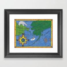 Northern Explorer Framed Art Print