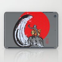 aang iPad Cases featuring Aang in the Avatar State by Tom Ledin