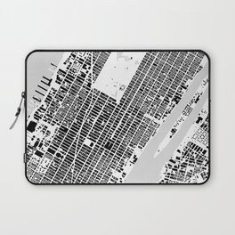 New York building city map Laptop Sleeve